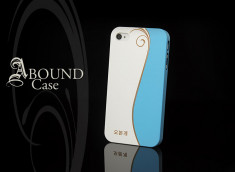 Coque iPhone 4/4S Abound-Bleu