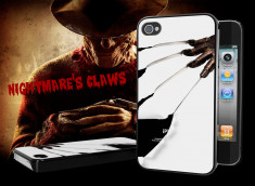"Coque iPhone 4/4S ""Nightmare's Claws"""