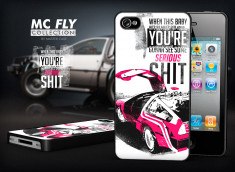 Coque iPhone 4/4S Back To The Future-Modèle 2