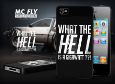 Coque iPhone 4/4S Back To The Future-Modèle 5