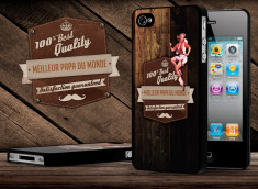 Coque iPhone 4/4S Vintage Best Father