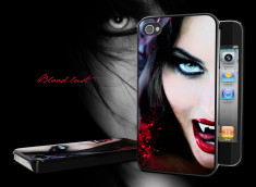 "Coque iPhone 4/4S ""Blood Lust"""