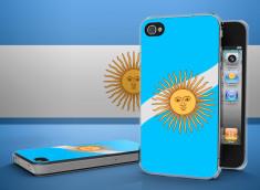 Coque iPhone 4/4S Drapeau Argentine Translucide