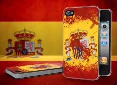 Coque iPhone 4/4S Drapeau Espagne