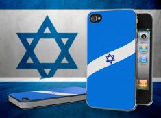Coque iPhone 4/4S Drapeau Israël Translucide