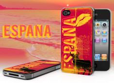 Coque iPhone 4/4S Lips Flag - Espagne