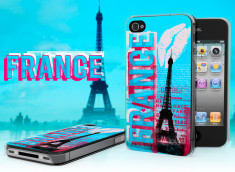 Coque iPhone 4/4S Lips Flag - France