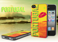 Coque iPhone 4/4S Lips Flag - Portugal