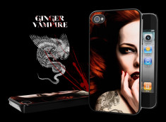 "Coque iPhone 4 ""Ginger Vampire"""
