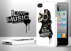 coque iphone 4s i love music