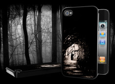"Coque iPhone 4/4S ""Into the Wood"""
