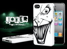 Coque iPhone 4/4S Joker-Noir
