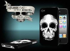 Coque iPhone 4/4S Flores de la Muerte