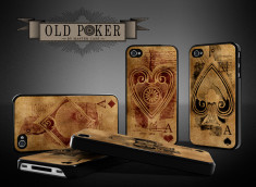 Coque iPhone 4/4S Old Poker