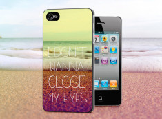 Coque iPhone 4/4S Don't Wanna Close My Eyes