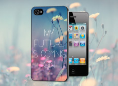 Coque iPhone 4/4S Future is Coming On