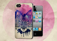 Coque iPhone 4/4S Fox Face