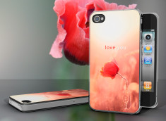 Coque iPhone 4/4S Poppy Love