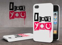 Coque iPhone 4/4S Street Love