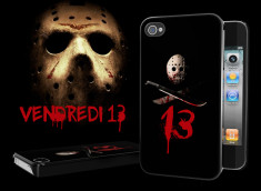 "Coque iPhone 4 ""Vendredi 13"""