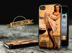 Coque iPhone 4/4S Vintage Case - Barbecue Party
