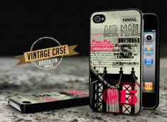 Coque iPhone 4/4S Vintage Case - Brooklyn Bridge