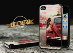 Coque iPhone 4/4S Vintage Case - Beetle Spirit