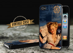 Coque iPhone 4/4S Vintage Case - Hot Letter Pin Up