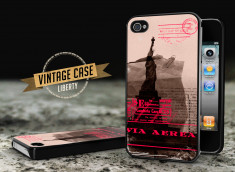 Coque iPhone 4/4S Vintage Case - Liberty