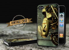 Coque iPhone 4/4S Vintage Case - Old Motorbike