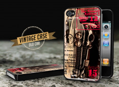 Coque iPhone 4/4S Vintage Case - Old School Car