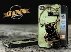 Coque iPhone 4/4S Vintage Case - Photographer