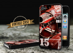 Coque iPhone 4/4S Vintage Case - Red Car