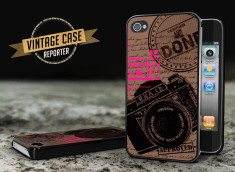 Coque iPhone 4/4S Vintage Case - Reporter