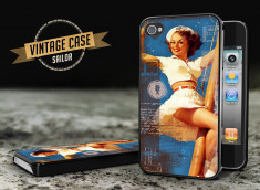 Coque iPhone 4/4S Vintage Case - Sailor Pin Up