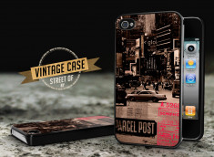 Coque iPhone 4/4S Vintage Case - Streets of NY
