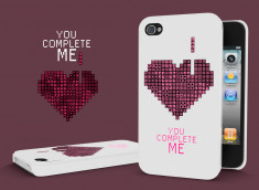 Coque iPhone 4/4S You Complete Me