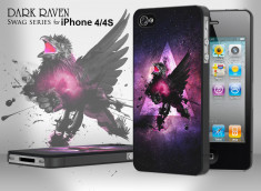 Coque iPhone 4/4S Swag Series - Dark Raven