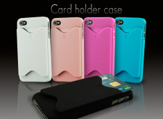 Coque iphone 4 range carte