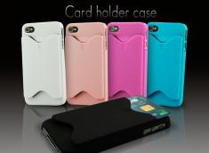 Coque iphone 4 range carte