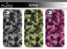Coque iPhone 4/4S Army Cover by Puro