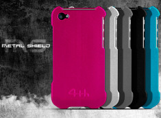 Coque iPhone 4/4S Metal Shield