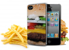Coque iPhone 4/4S Hamburger