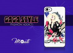 Coque iPhone 4/4S J & J Moatti Fashion Addict - Gaga Style