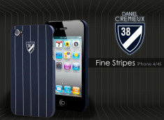 Coque iPhone 4/4S Fine Stripes Case by Daniel Cremieux