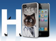 Coque iPhone 4/4S Dr Chat