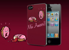 Coque iPhone 4/4S Donuts Murder