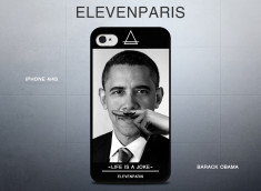 Coque iPhone 4/4S Eleven Paris - Barack Obama