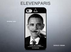 Coque iPhone 4/4S Eleven Paris - Barack Obama
