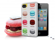 Coque iPhone 4/4S Macarons V2